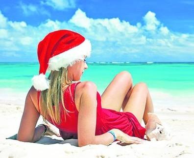 Новый год на экзотических островах